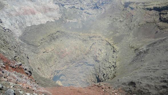 Cratera do Vulcão Villarrica