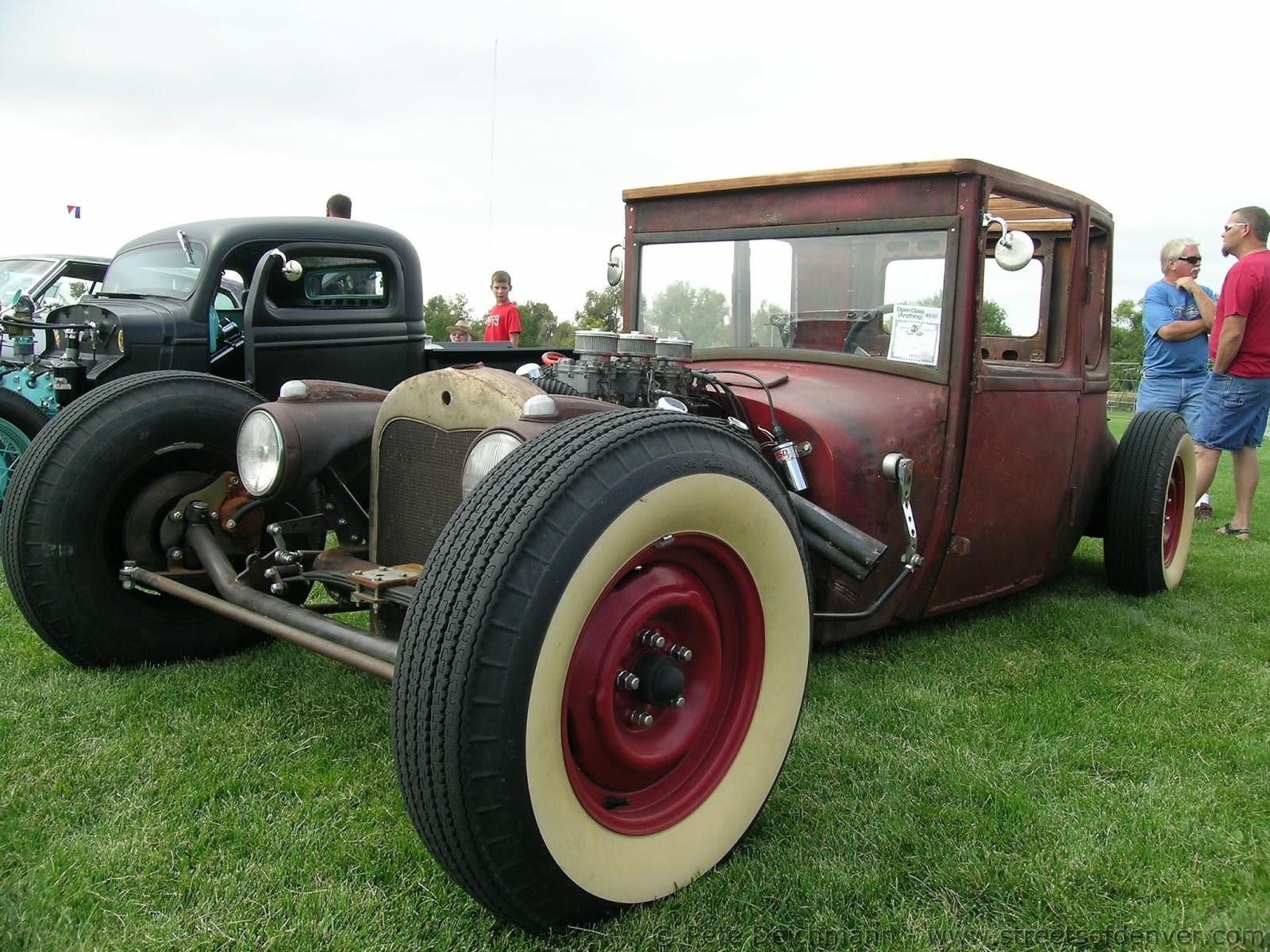 Streets Of Denver: 1926 Ford Model T Rat Rod