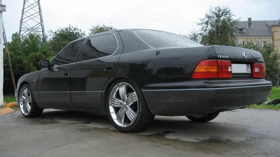 1995 Lexus LS 400 Sedan Specifications, Pictures, Prices