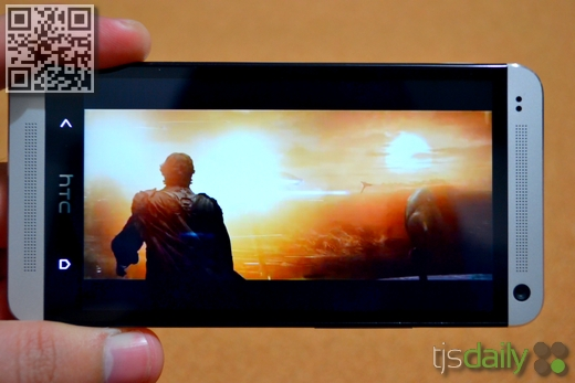 HTC One Review Video Viewing