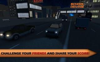 Screenshot of School Driving 3D