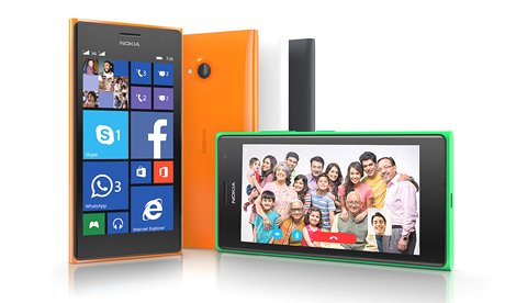 Lumia 730 Dual SIM Windows Phone Selfie