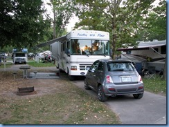 7778 Lundy's Lane - Niagara Falls KOA - motorhome and rental Fiat