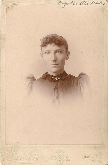 Cabinet Card Mrs Mary Krause North Branch Duluth Antiques