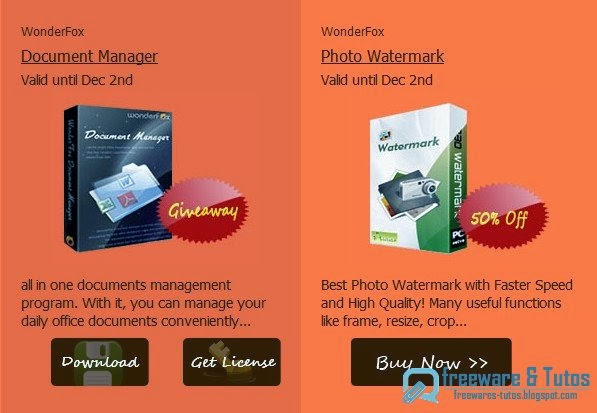 Offre promotionnelle : WonderFox Document Manager gratuit !