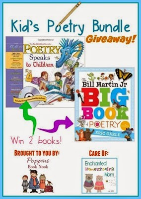 Kids Poetry Bundle Giveaway