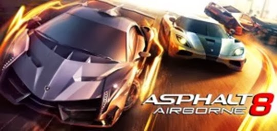 Asphalt 8 Airborne unlimited money full APK free download for Android