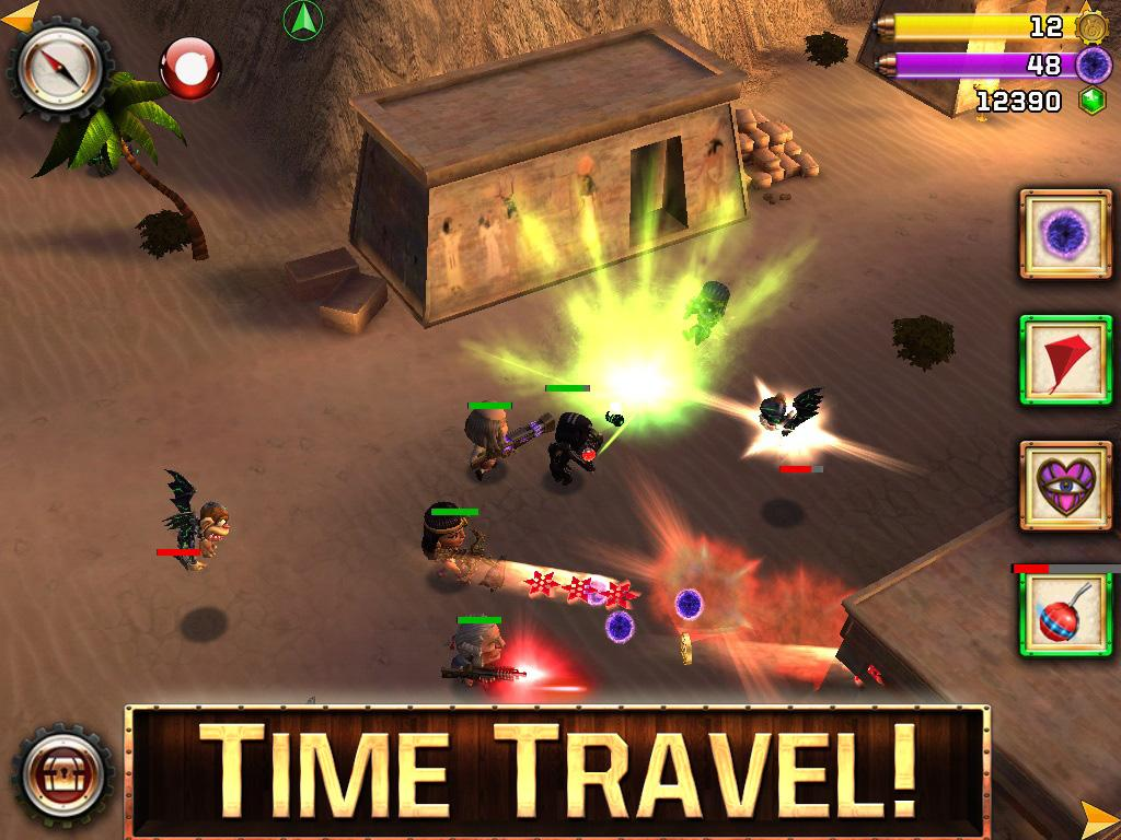 Ninja Time Pirates - screenshot