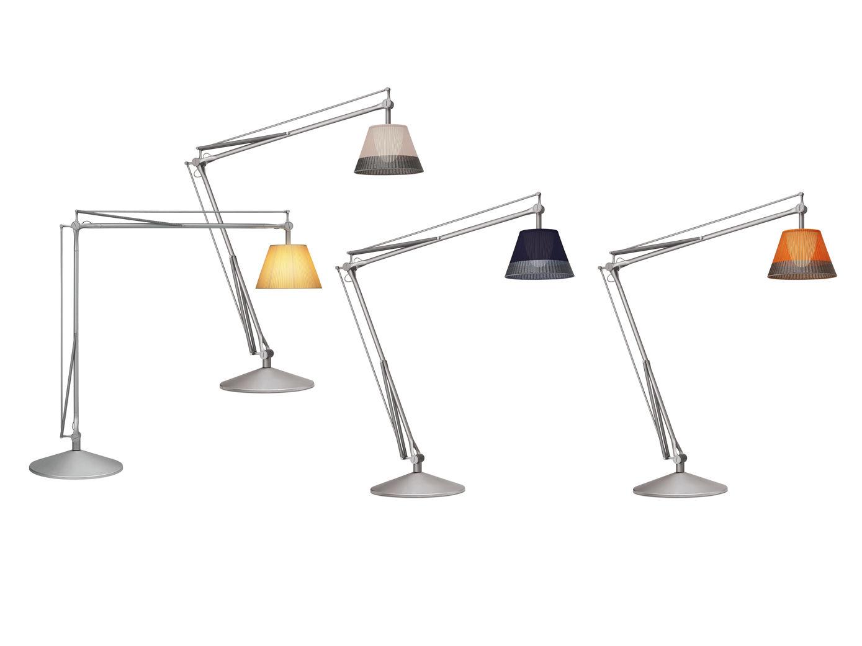 Outdoor modern floor lamp - Flos Superarchimoon Floor Lamp Flos Lighting Outdoor Lamps