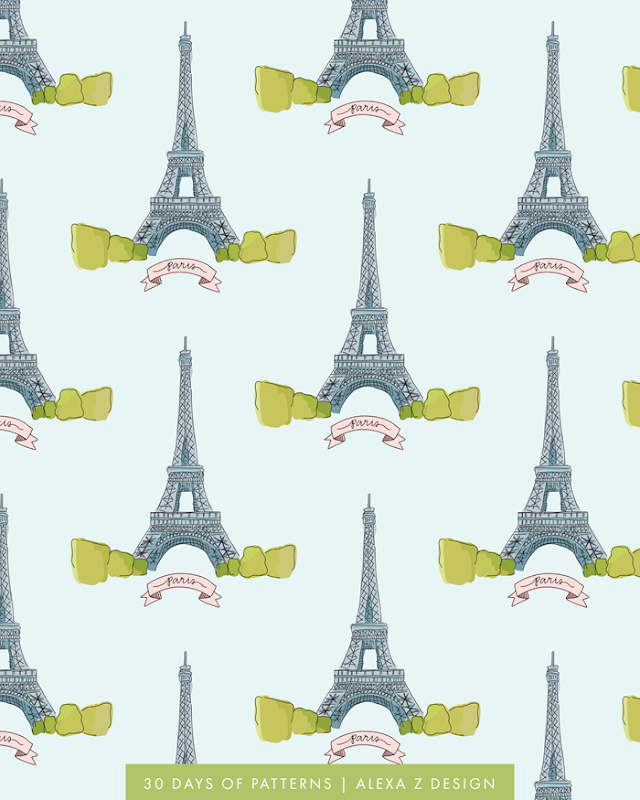 paris - Alexa Z Design pattern
