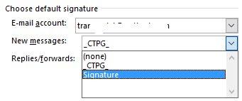 Cách tạo chữ ký trong Outlook 2010/2013/2016