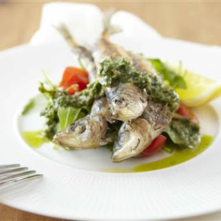 Grilled Sardines with Salsa Verde Recipe