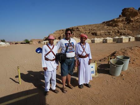 Cu beduinii de la Jabal Rum Camp - Wadi Rum