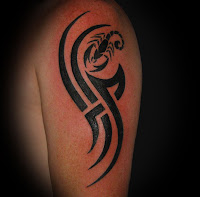 Simple Tribal Tattoo Shoulder