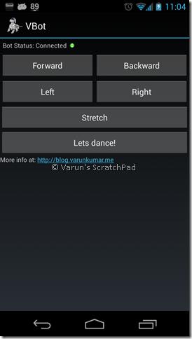 VBot - Arduino based Quadbot | Varun's ScratchPad