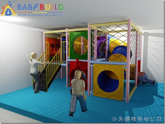 BabyBuild 室內3D泡管兒童遊具規劃