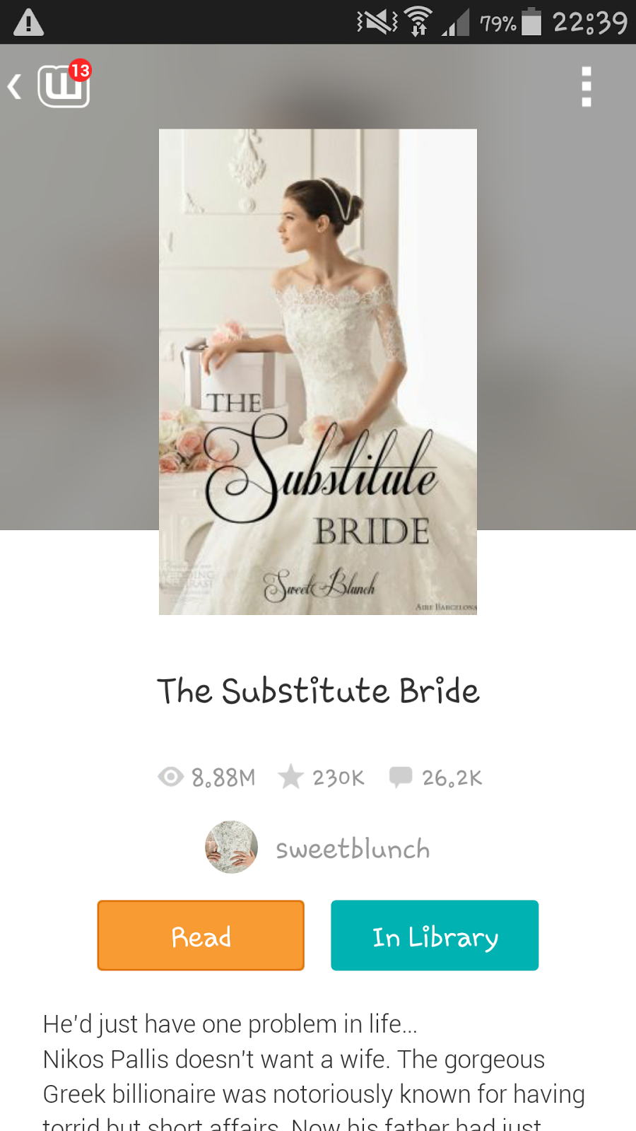 Stories from a Plain Jane: Wattpad:The substitute Bride