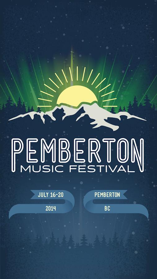 Pemberton Music Festival - screenshot