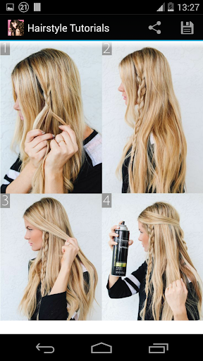 Hairstyles step by step  screenshots 3