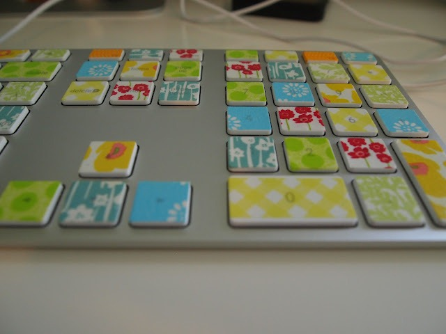 50 washi tape keyboard