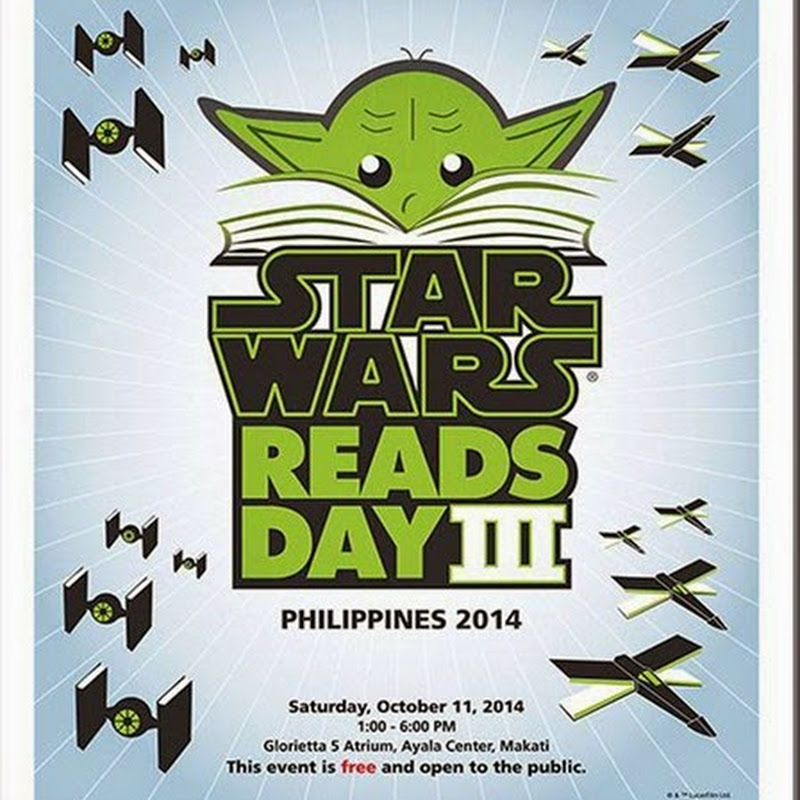 "Join ""Star Wars Reads Day"" at Glorietta 5 Atrium Oct 11"