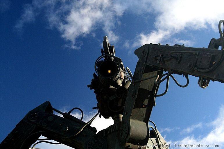 WETA camera in Wellington