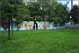Grafitti in der Puschkinstraße