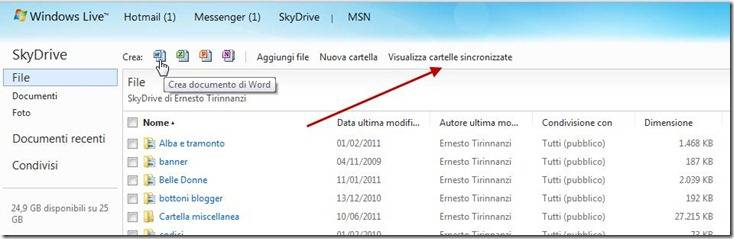 skydrive-interfaccia