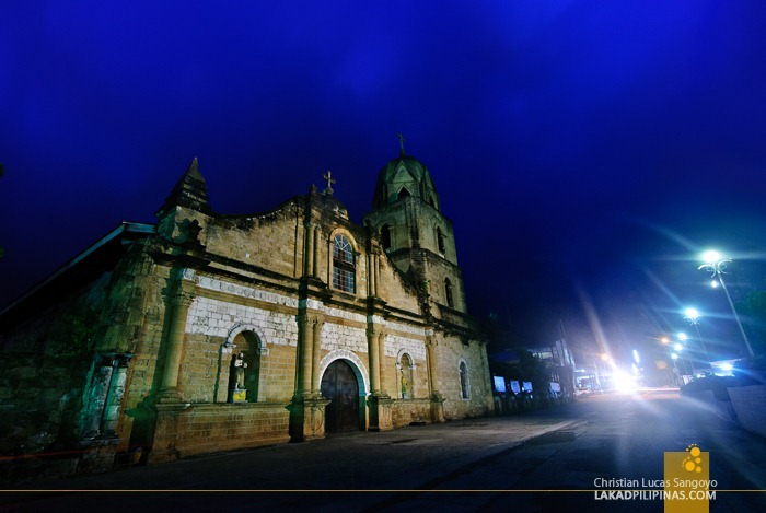 Early Evening at Iloilo's Guimbal Church