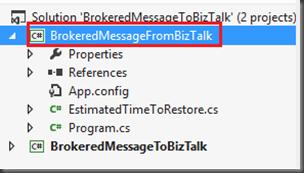 BizTalk 2010 R2 CTP: Azure Service Bus Integration-Part 3 Sending message to Service Bus Queue