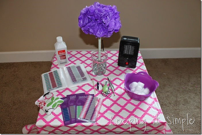 Little Girl Birthday Party Idea Tea Party with Stations (4)