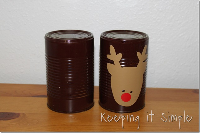 Christmas bowling cans (2)