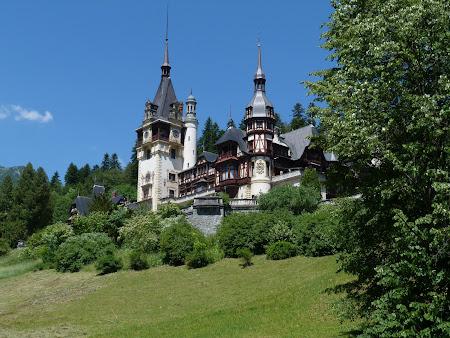 Obiective turistice Romania: castelul Peles