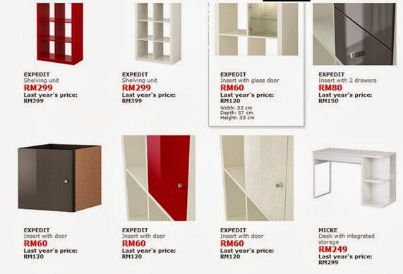 Perabot murah IKEA
