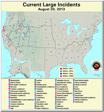 Nifc Large Fire Map.Avian Flu Diary Nifc Raises Wildfire Preparedness Level To 5 Maximum