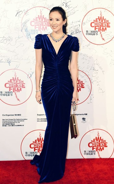 Zhang Ziyi attended the New York Chinese Film Festival