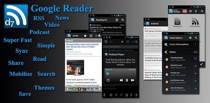 D7 Google Reader Pro (RSS) apk