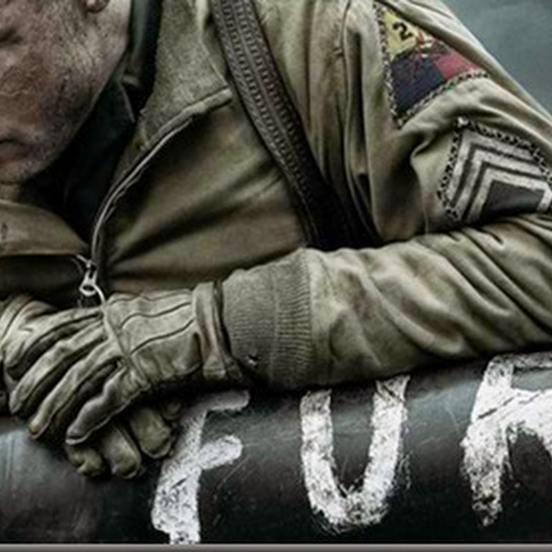 "Teaser Poster Revealed for Brad Pitt's ""Fury"""