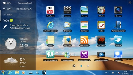 Windows Touch Launcher