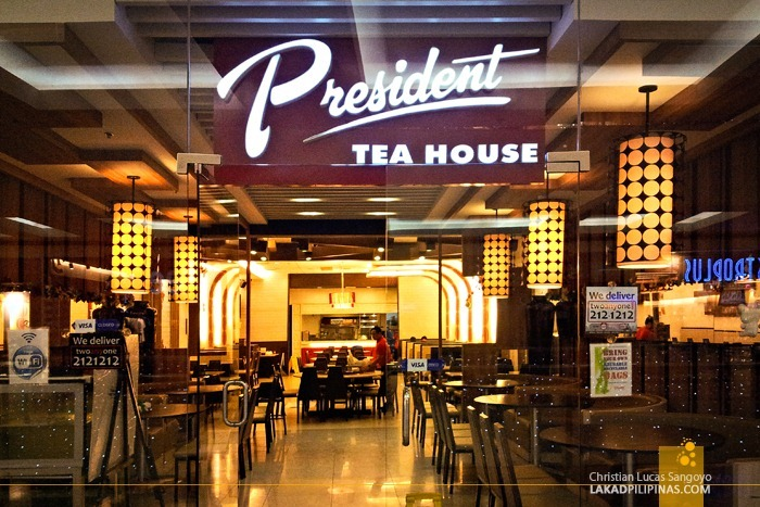 Mall Facade of President Tea House SM North Edsa