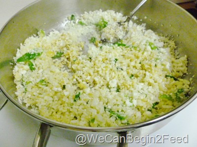 Jan 11 Cauliflower Paleo Rice 005