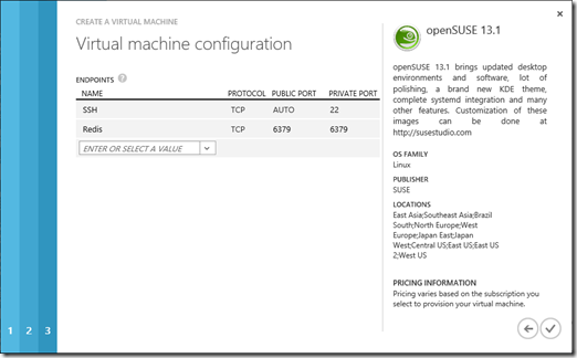Walkthrough: Setting up a Redis cluster on Windows Azure