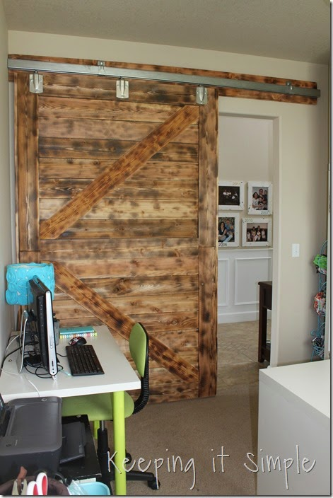 DIY-Large-Barn-Door-with-Burned-Wood-Finish (47)
