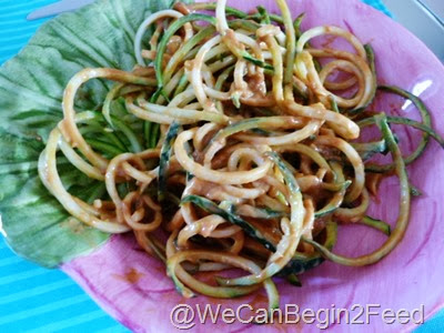 Dec 31 sesame sauce and zuke noodles 001