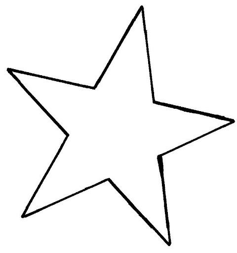 Moldes de estrellas grandes para imprimir Imagui