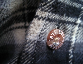 Field and Stream shirt button