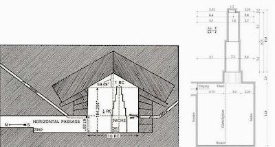 чертеж шестимодовой резонаторной камеры царицы пирамиды хеопса