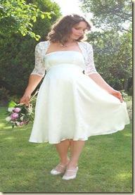 757c67c67f Vestidos de Novia para Embarazadas  vestidos novias embarazadas ...