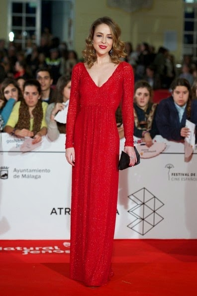 Silvia Abascal attends the 17th Malaga Film Festival 2014