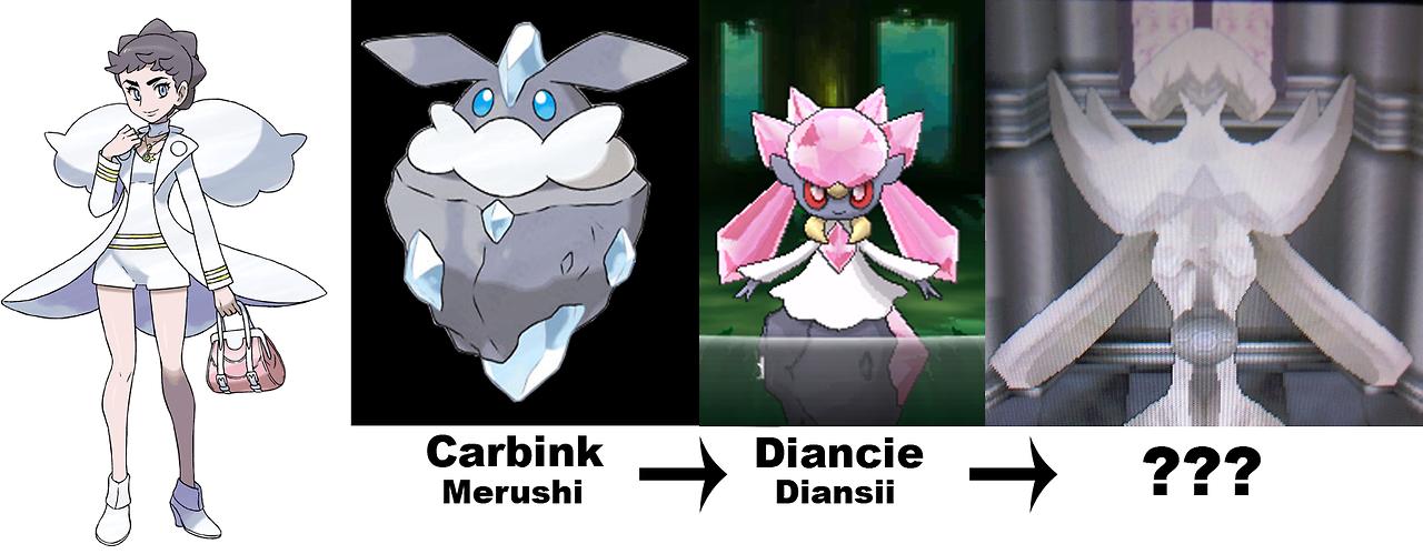 Pokémon Clash: Pokémon X and Y : Carbink Evolves in Diancie?